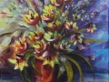 Louise Mailhot Fleurs indociles 30x24